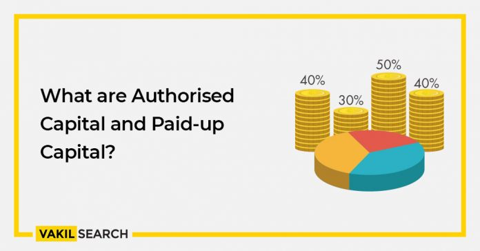 What are Authorized Capital and Paid-up Capital?