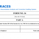 Form 16 & the Difference Between Form 16 A & B?