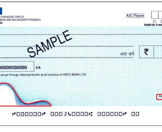 bounced cheque
