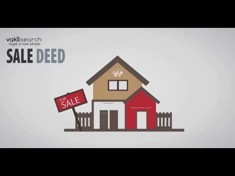 What are the components of a sale deed?
