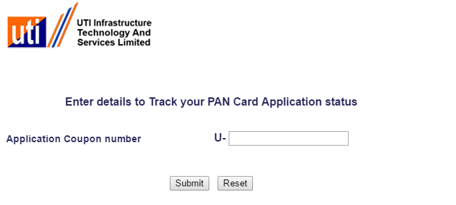 Check PAN Card Status - Vakilsearch on pan card correction application form, pan card apply online, pan card form 49a,