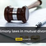 Alimony Laws in Mutual Divorce