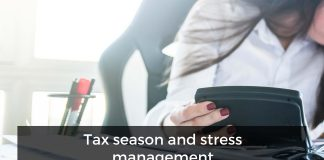 Tax season and stress management