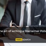 The art of writing a Disclaimer Policy