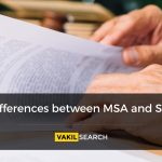 Difference between MSA and SLA