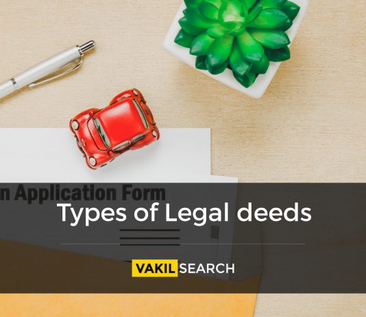 legal deeds and their significance