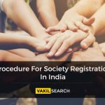Procedure For Society Registration In India