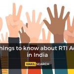 Things to know about RTI Act in India