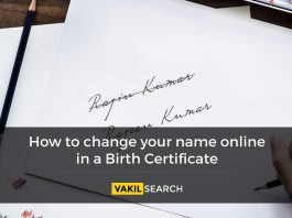 name change in birth certificate