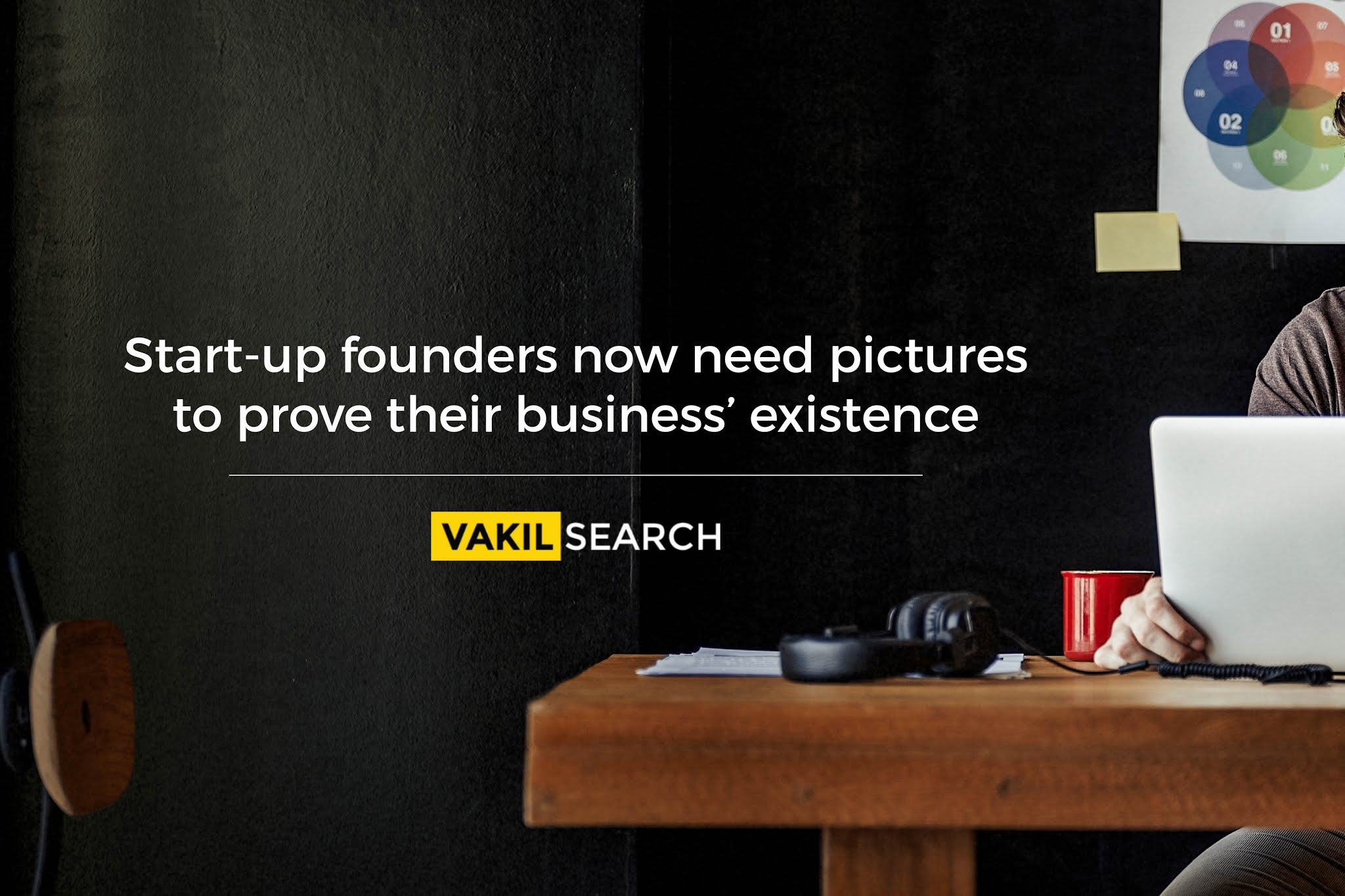 Start-up founders now need pictures to prove their business' existence