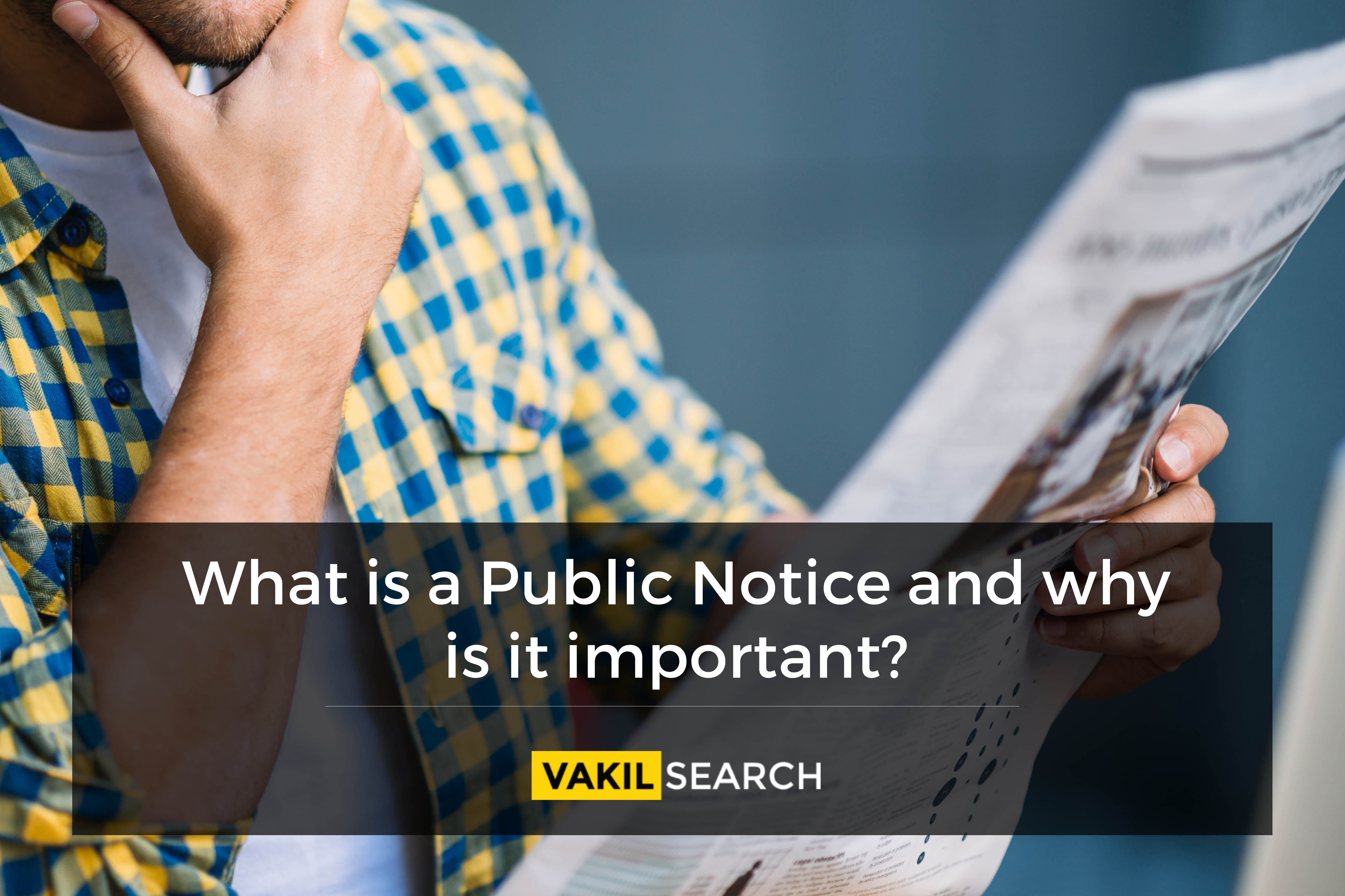 what is public notice, what are public notices