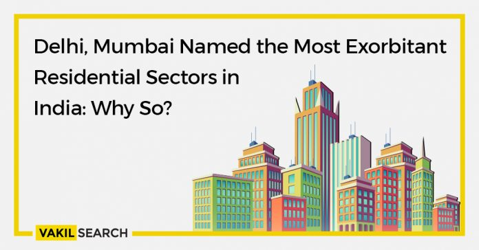 Delhi, Mumbai named the most exorbitant residential sectors in India: Why so?