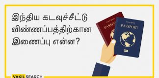 What is the link for Indian Passport Application
