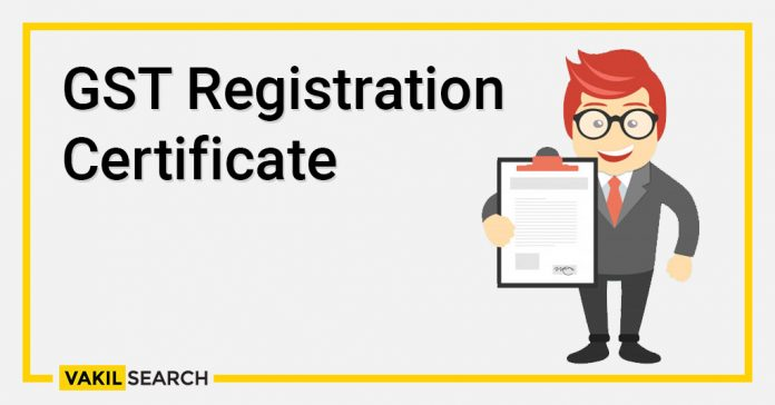 GST Registration Certificate