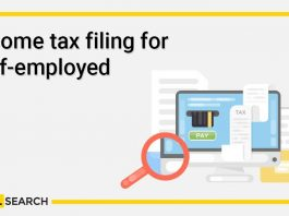 Income tax filing for self-employed