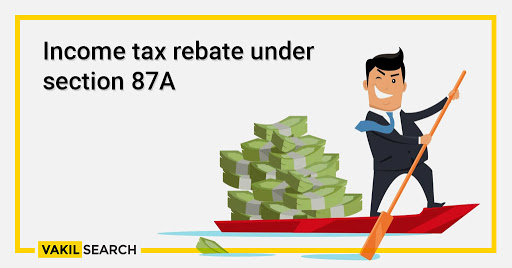Income tax rebate under Section 87A for Fy 2019-20