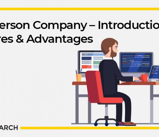 One Person Company – Introduction, Features & Advantages