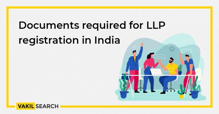 Documents required for LLP registration in India
