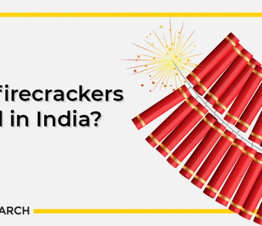 Are firecrackers legal in India?