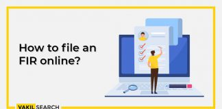 How to file an FIR online?