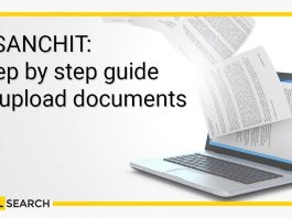 Step by step guide to upload electronic documents