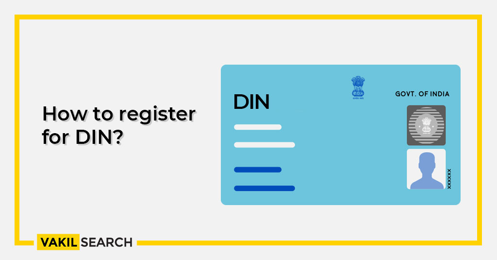 How to register for DIN?