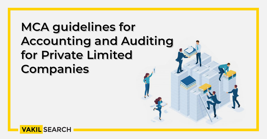 MCA guidelines for Accounting and Auditing for Private Limited Companies