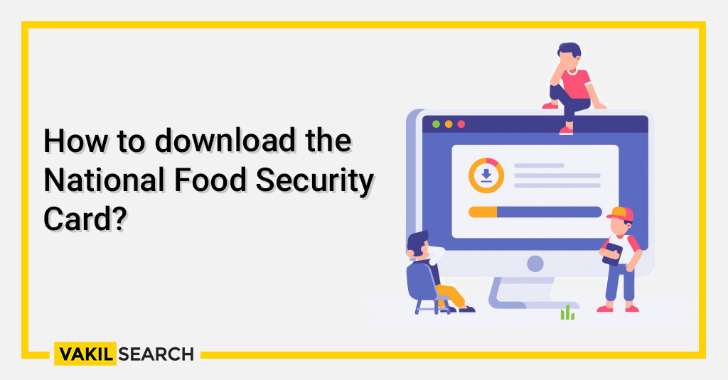 How to download the National Food Security Card_