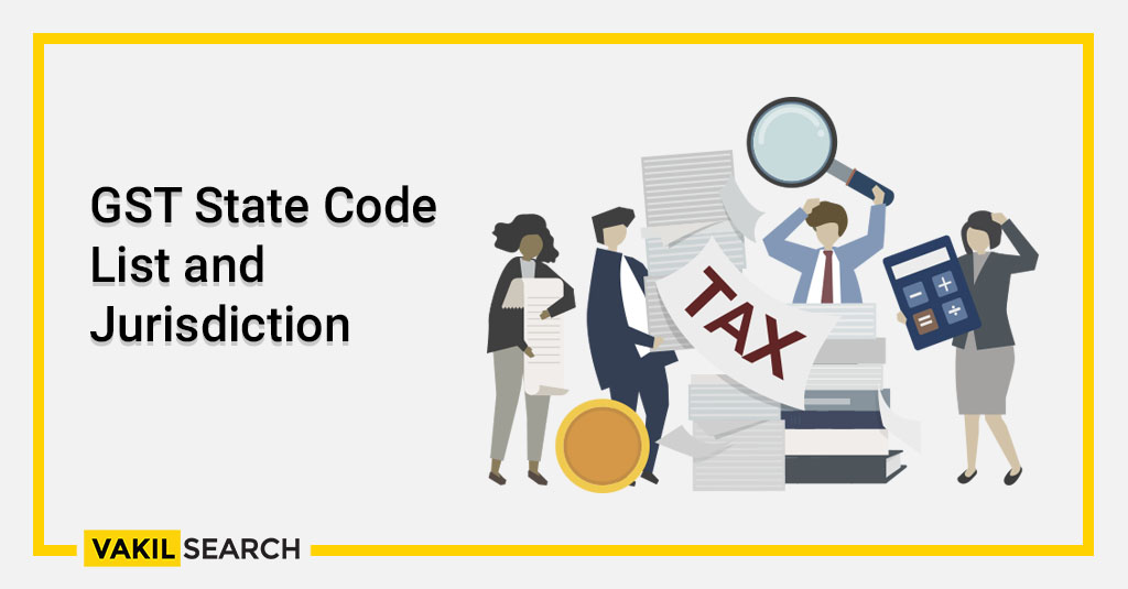 GST State Code List and Jurisdiction