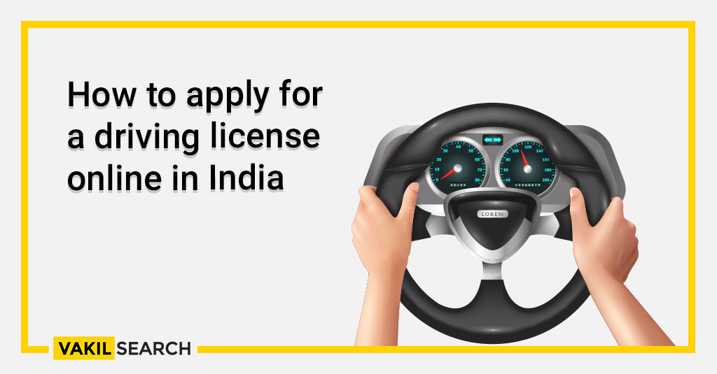 How to apply for a driving license online in India