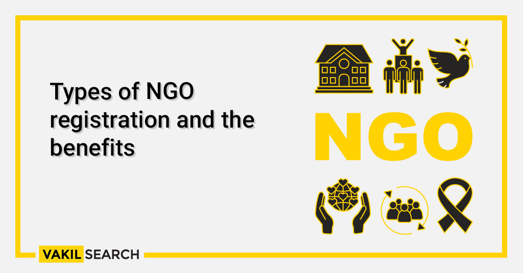 Types of NGO registration and the benefits