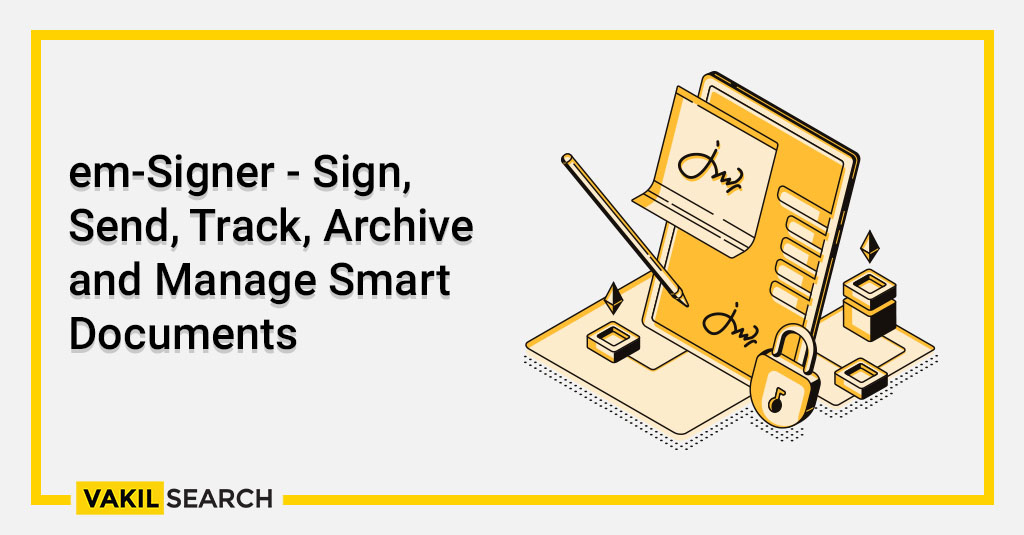 em-Signer - Sign, Send, Track, Archive and Manage Smart Documents