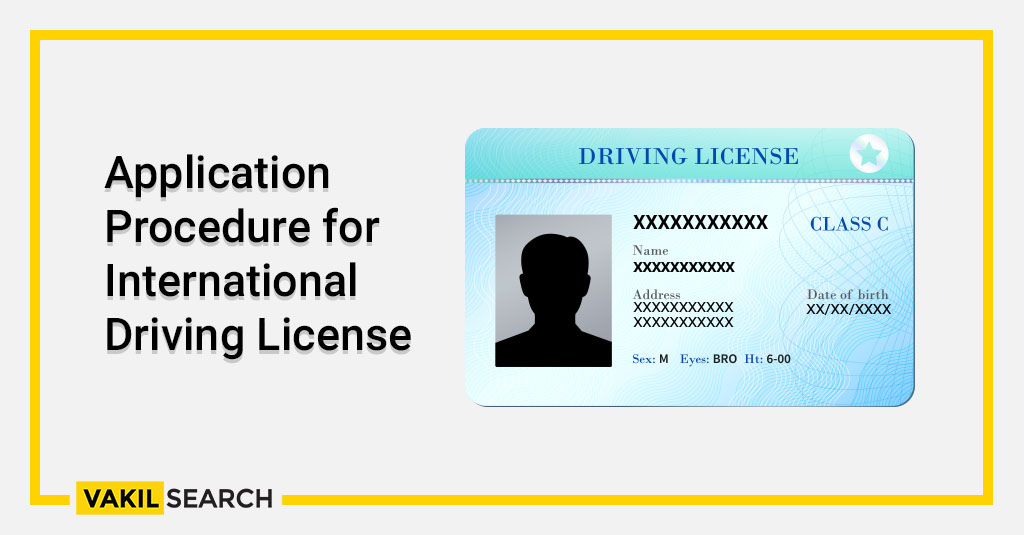 Application Procedure for International Driving License