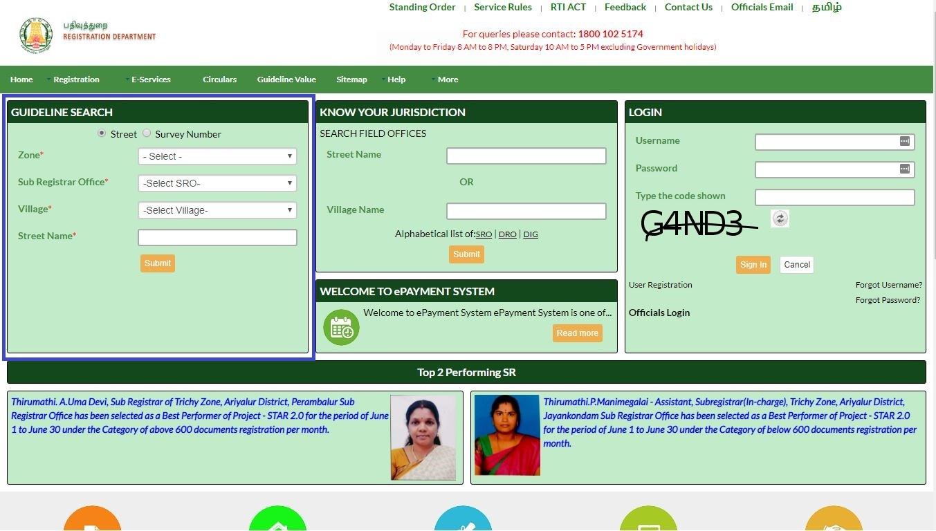 Have You Checked the Property Guideline Value in Tamil Nadu