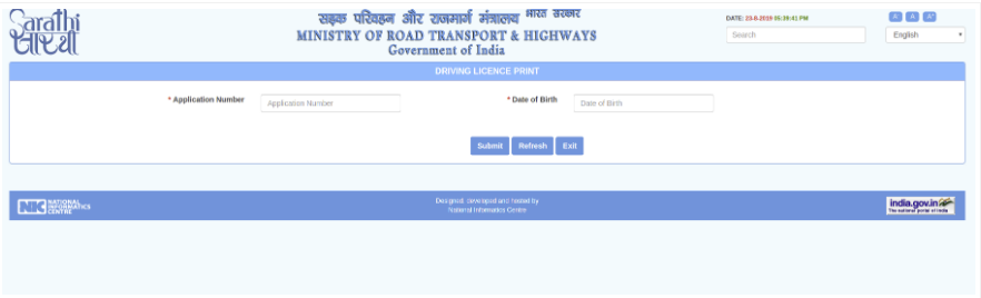 How to change address on Driving License