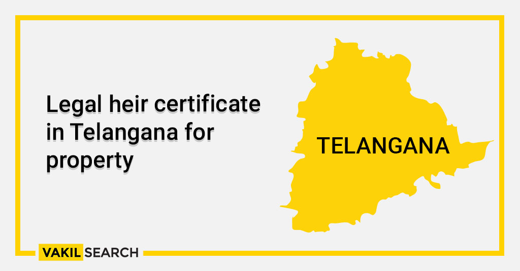 Legal heir certificate in Telangana for property