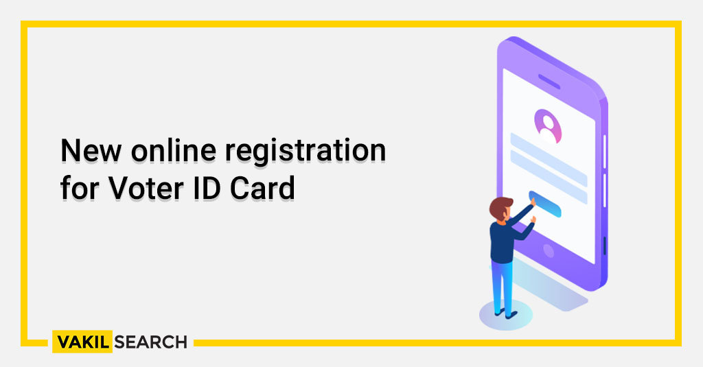 New online registration for Voter ID Card