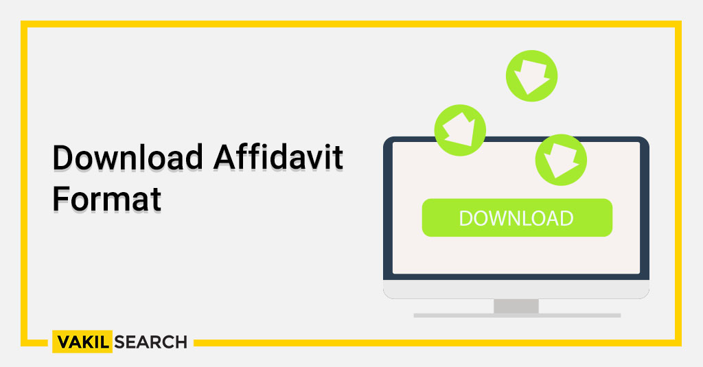 Download Affidavit Format