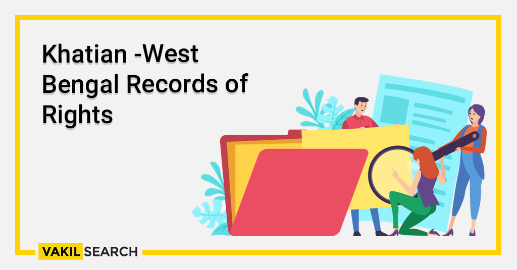 Khatian -West Bengal Records of Rights