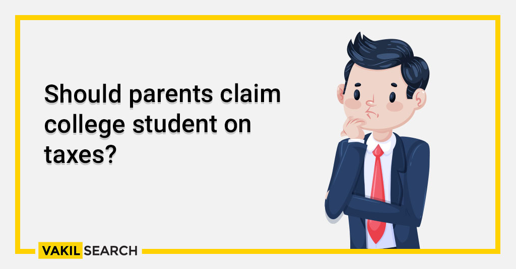 income tax - Should parents claim college student on taxes_