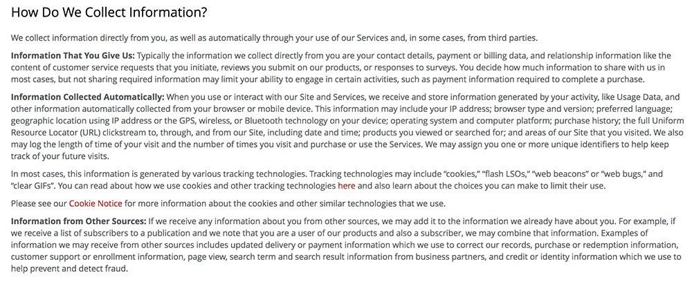 How to write a good website terms of service & privacy policy