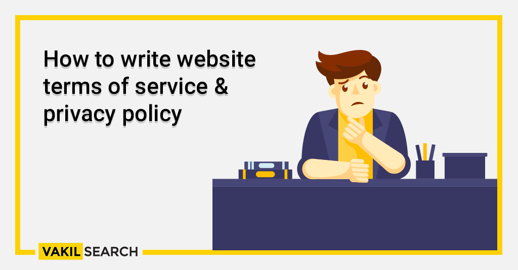 How to write website terms of service & privacy policy (1)