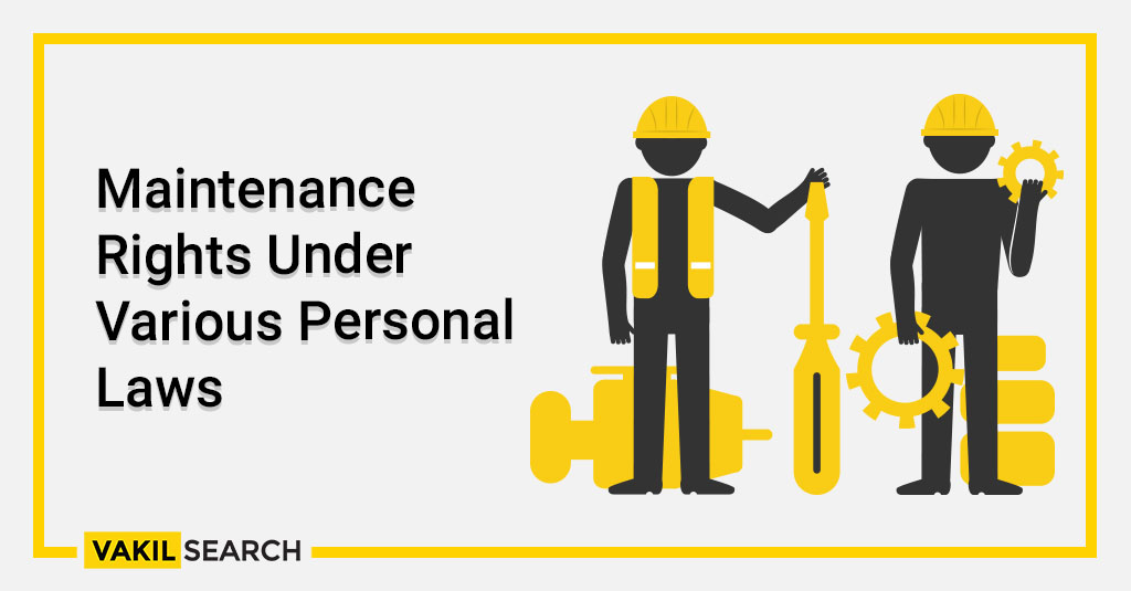 Maintenance Rights Under Various Personal Laws