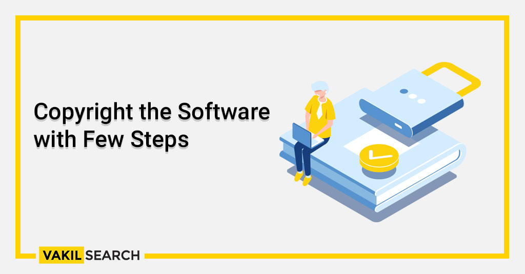 Copyright the Software with Few Steps