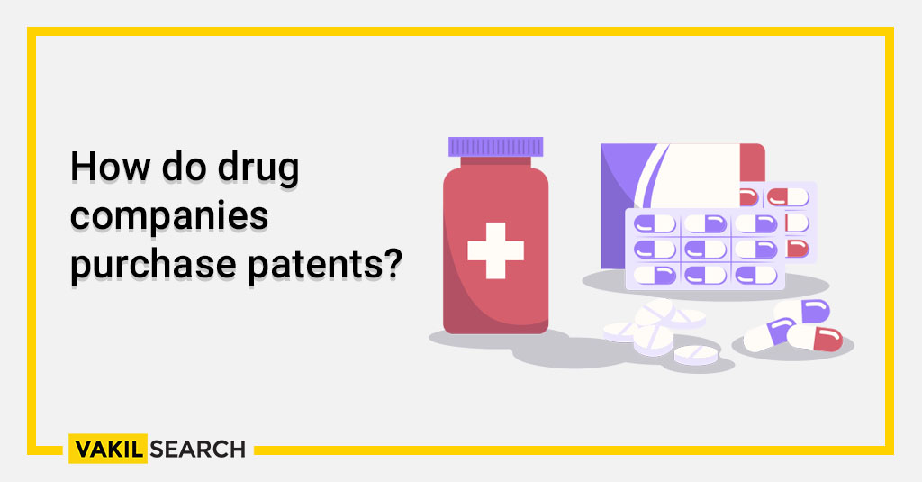 How do drug companies purchase patents?