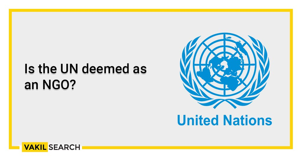 Is the UN deemed as an NGO