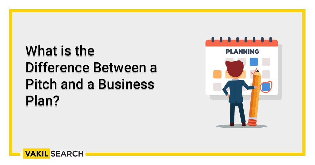 What is the Difference Between a Pitch and a Business Plan