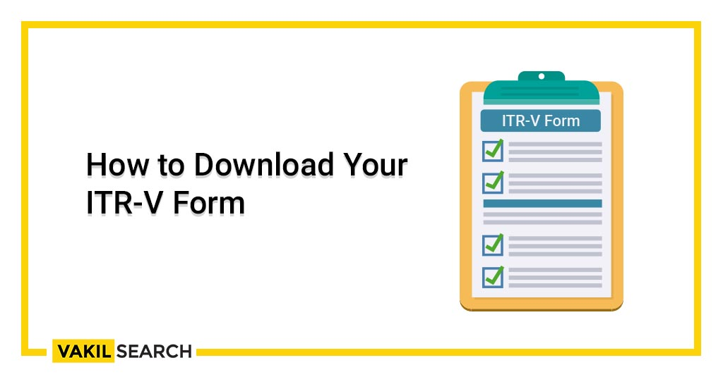 How to Download Your ITR-V Form