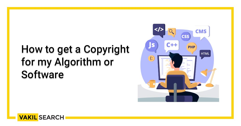 How to get a Copyright for my Algorithm or Software