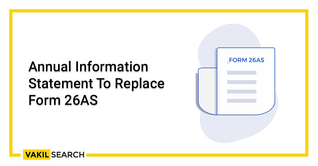 Annual Information Statement To Replace Form 26AS